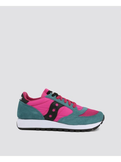 Pink Jazz Suede Sneakers