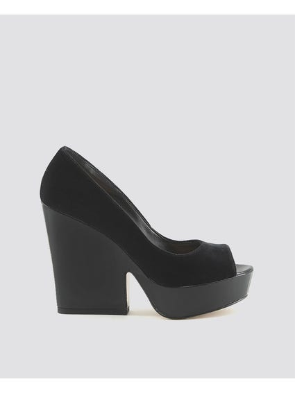 Black Licia Pumps