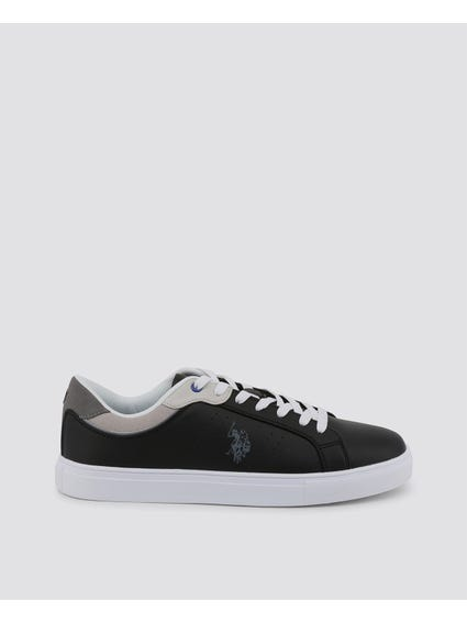 Grey Curty Lace Up Sneakers