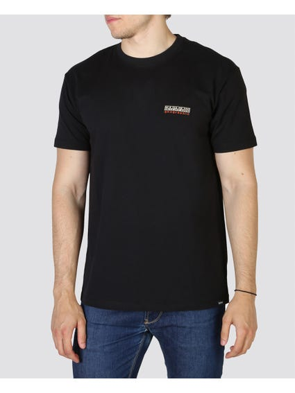 Black Chest Logo T-Shirt