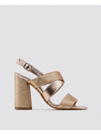 Rose Gold Vera Sandals
