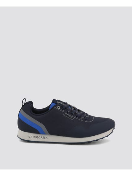 Blue Flash Two Stripe Sneakers
