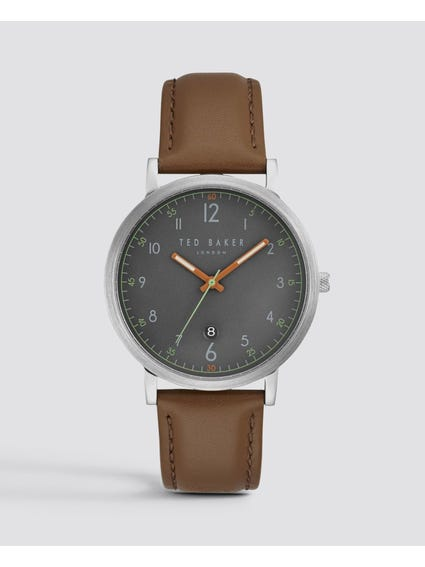 Round Case Dial Analog Watch