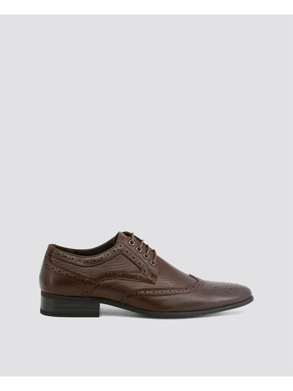 Brown Scott Formal Lace Up