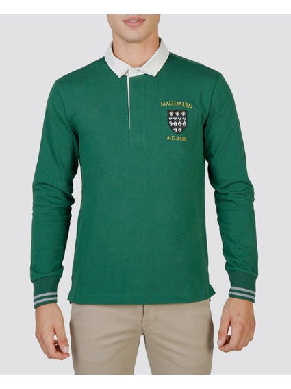 Magdalen Long Sleeves Polo Shirt