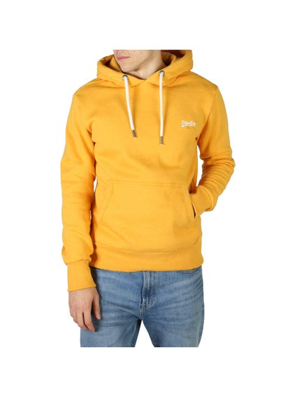 Yellow Hoodie Long Sleeve Sweatshirt