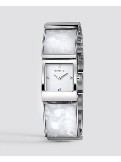 Silver B Double Only Time Watch