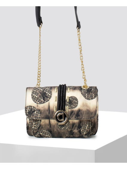 Black Zurich Crossbody Bag