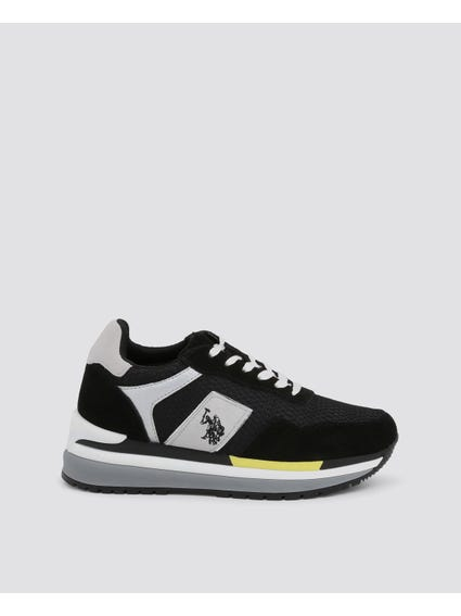 Black Cher Two Tone Sneakers