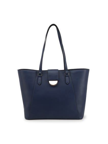 Blue Falcor Shopping Bag