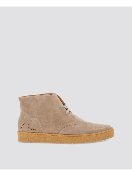 Brown Newsalinas Suede Lace Up