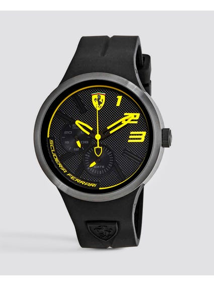 FXX Black and Yellow Dial Watch