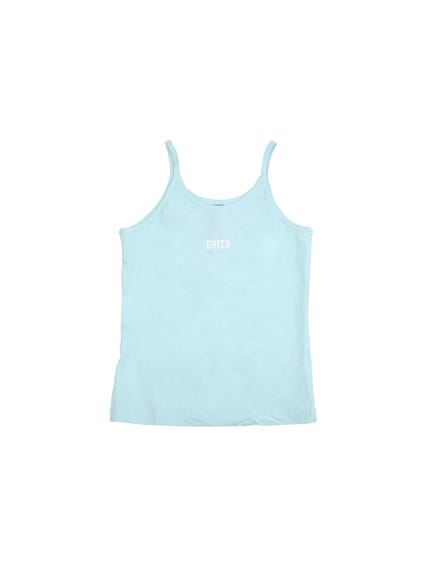 Sleeveless Logo Kids Tank