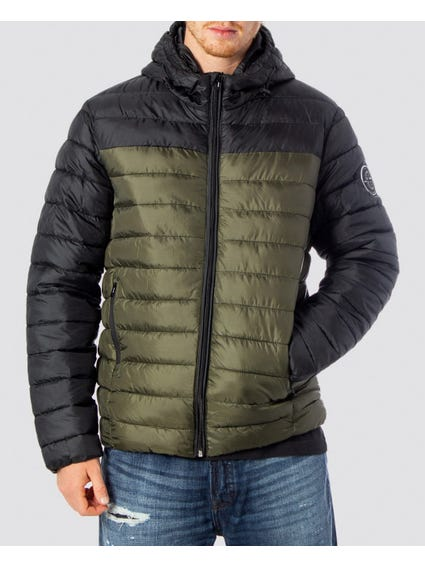 Teven Quilted Hood Jacket