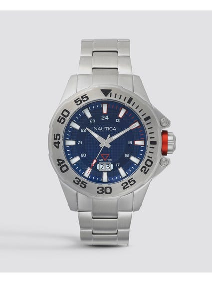 Westview Stainless Steel 3-Hand Watch