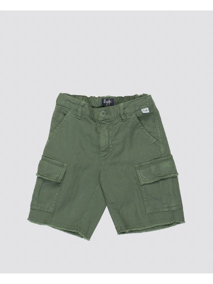 Boys Dark Green Shorts