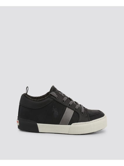 Black  Arman Two Tone Sneakers