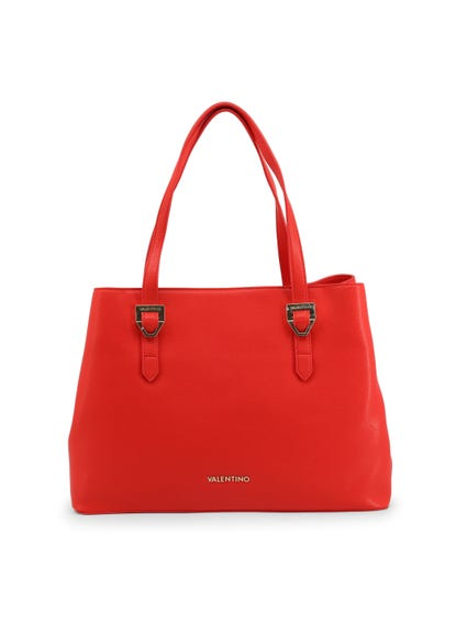 Red Albus Visible Brand Shoulder Bag