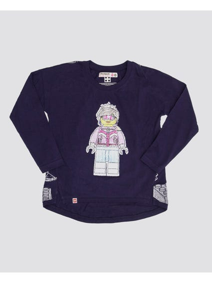 Robot Long Sleeves Kids Top