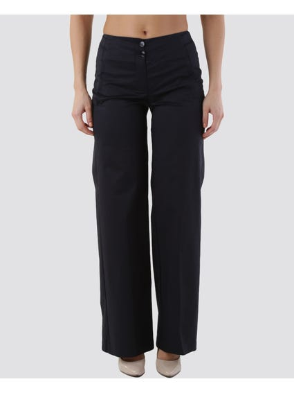Two Button Full Length Pants