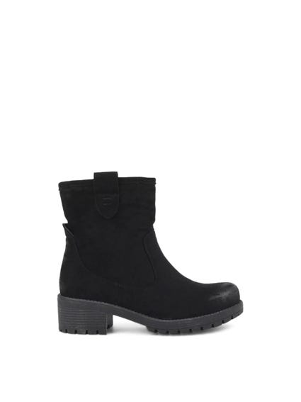 Round Toe Suede Boots