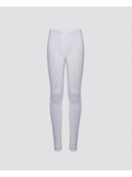 Plain Elastic Kids Leggings