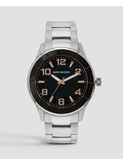 Stainless Steel Multi Dial Watch
