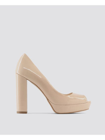 Beige Mia Pumps