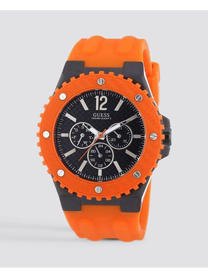 Overdrive Multifunction Silicone Watch