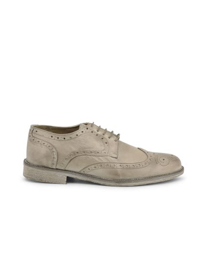 Brown Crust Brogue Lace Up Shoes