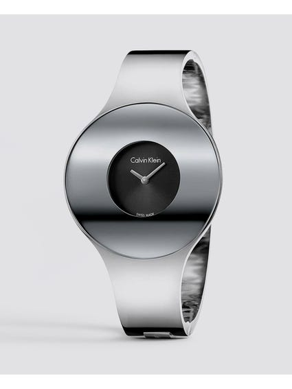 Black Dial Small Bangle Watch