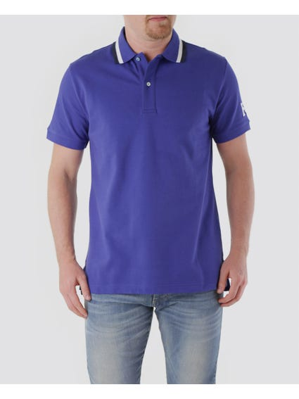Stripes Collar Polo Shirt