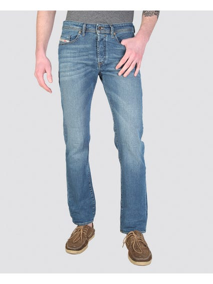 Buster Button Regular Fit Jeans