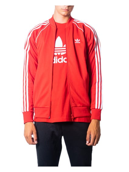 Full Zip 3 Stripes  Sweatshirt