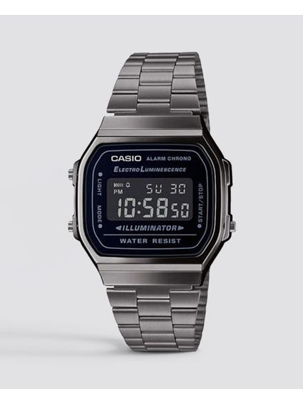 Grey Vintage Digital Watch