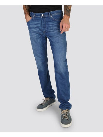 Thytan Full Button Straight Jeans