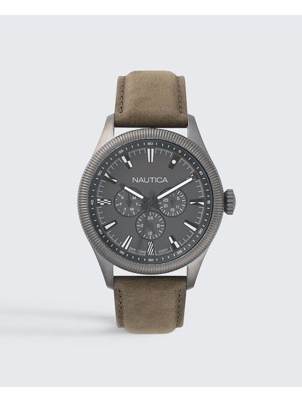 Starboard Grey Dial Analog Watch