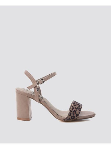 Ankle Strap Mid Heel Sandals