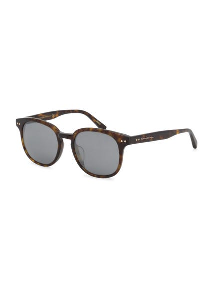 Brown Dotted Sunglasses