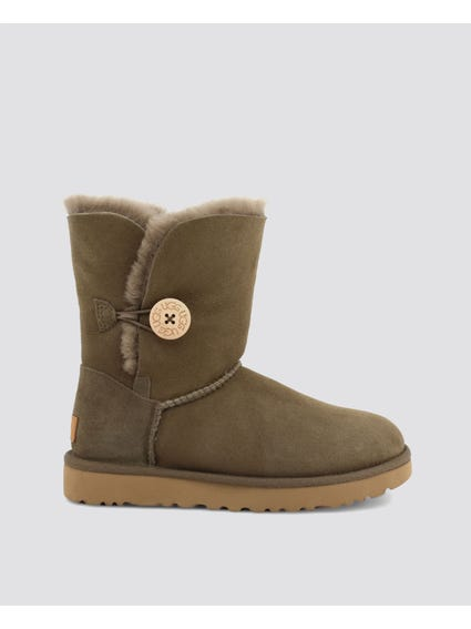 Green Bailey Button Ankle Boots