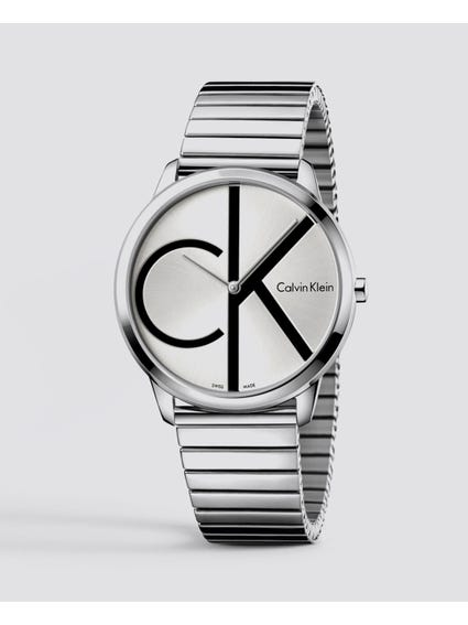 Silver Dial Stainless Steel Watch