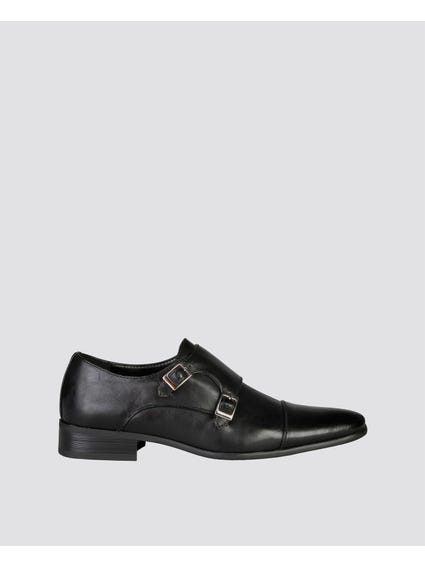 Black Clovis Formal Slip Ons