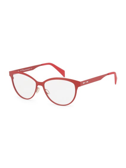 Red Metal Frame Butterfly Eyeglass