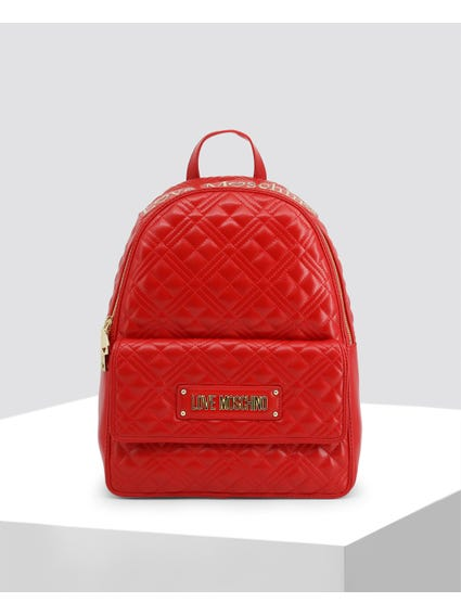 Red Easy Access Backpack