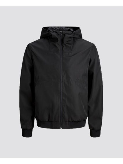 Black Shale Zipper Jacket