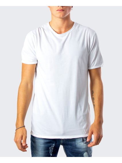 Basic Plain Crew Neck T-Shirt
