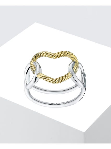 Silver Rhodium-Plated Ring