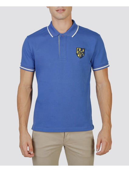Blue Trinity Polo Shirt