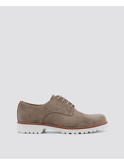 Taupe Il-Cielo Lace Up Shoes