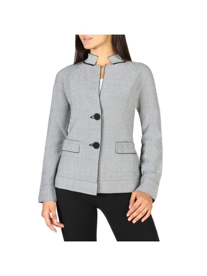 Bi Buttons Grey Blazer